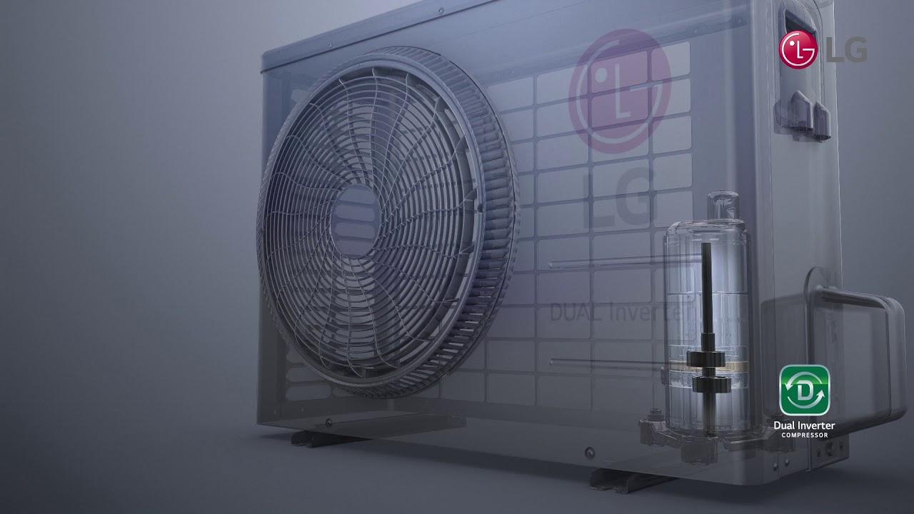 LG DUAL Inverter   Economia de Energia