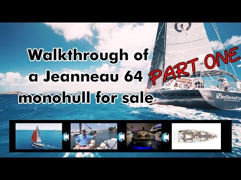 Jeanneau JEANNEAU 64 video