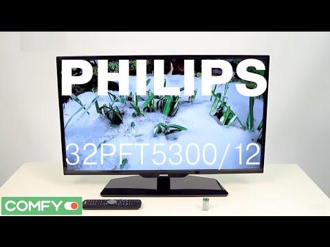 Philips 32PFT5300/12 - компактный телевизор со SMART TV - Видеодемонстрация от Comfy.ua