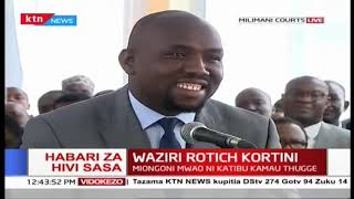Murkomen: Bail terms should not be such that the accused are punished before proof of guilt