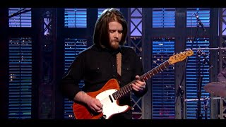 "Sturgill Simpson Plays ""Long White Line"" On Letterman"