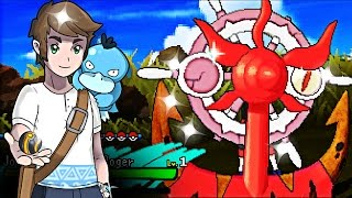 Dhelmise  - (Pokémon) - Live Shiny Dhelmise After 845 Eggs Via Masuda Method - Pokemon Sun & Moon