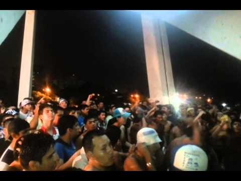 """""""LOS CHIFLADOS  BLOOMING"""" Barra: Los Chiflados • Club: Blooming"""