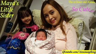 Birth Labor and Delivery: Our Newborn Baby Girl Aleida... Hulyan and Maya