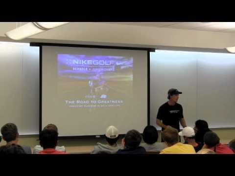 Nike Jr Golf Camps – Mental Toughness Seminar
