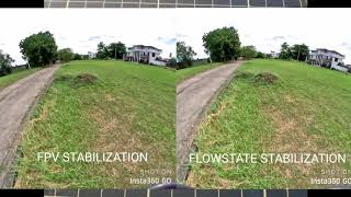 Insta360 Go FPV Stabilization vs Flowstate Stabilization