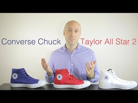 3 colors – Converse Chuck Taylor All Star 2 Review + Unboxing +On Feet + comparison – Mr Stoltz 2015