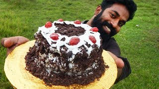 Home Made Black Forest Cake   ഓവൻ ഇല്ലാതെ അടിപൊളി ബ്ലാക്ക് ഫോറെസ്ററ് കേക്ക്   M4 Tech  