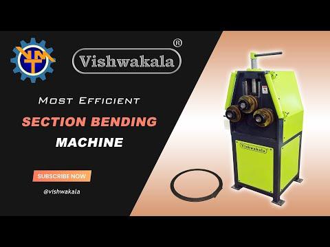 Cage Wheel Angle Bending Machine