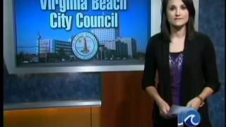 preview picture of video 'Va. Beach city manager presents budget'
