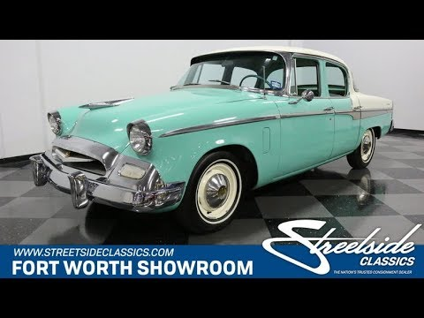 Video of Classic 1955 Studebaker Champion Offered by Streetside Classics - Dallas / Fort Worth - NTGN