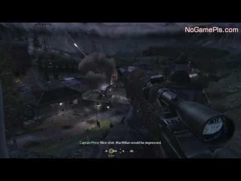 Call Of Duty 4 Modern Warfare Walkthrough Fng 01 By Nogamepls