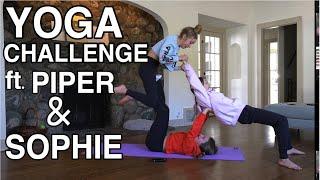 YOGA CHALLENGE ft. Piper Rockelle & Sophie Fergi **HARD**