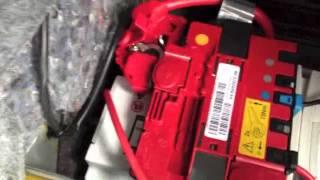 BMW E92,E90, E93 Car Battery Replacement