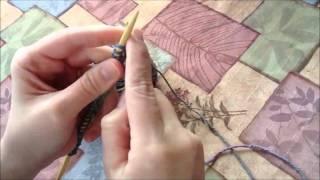 Knitting: How to Start a New Row (Beginner's Dishcloth Tutorial)