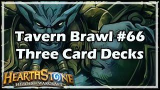 [Hearthstone] Tavern Brawl #66: Three Card Decks