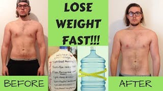 LOSE 15 POUNDS OVERNIGHT!!! | Everything You Need To Know About Water Weight | 1 Day Transformation