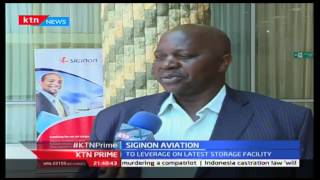 KTN Prime: Siginon Aviation to grow exports and imports,19/10/2016