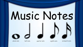 Music Notes | Notes | Green Bean's Music