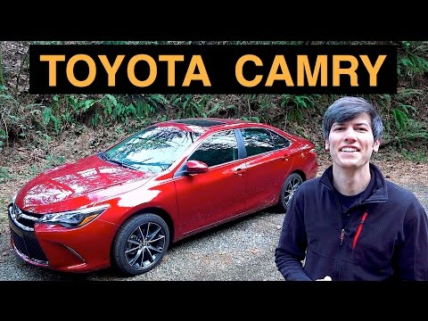 Review & Test Drive - 2015 Toyota Camry V6