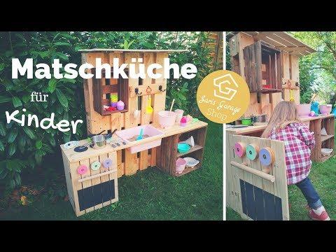Kinderküche Selber Bauen Matschküche Aus Paletten Spielküche Aus