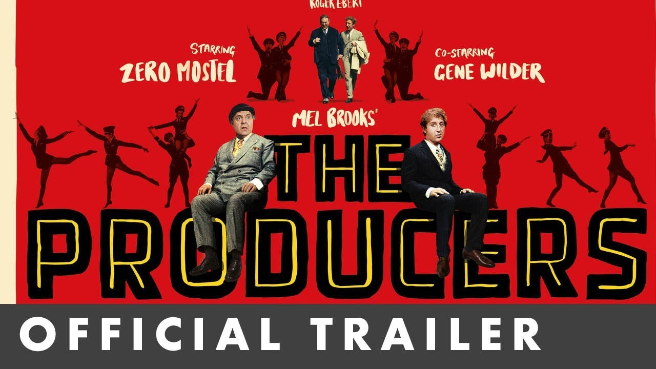 Video trailer för THE PRODUCERS - Newly restored in 4K - Dir. by Mel Brooks and starring Gene Wilder