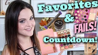 November Beauty Favorites and FAILS! JenLuv's Countdown! #notsponsored