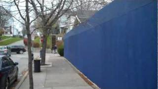 preview picture of video 'Wall along Lock St. in Port Dalhousie.'