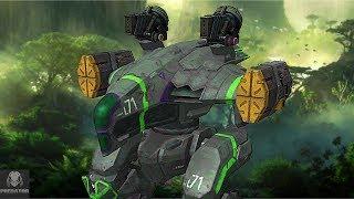 MRK II Raven Hunting In Squad Gameplay | Orkan/Gust Demolition | War Robots