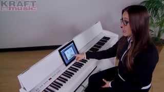 Kraft Music   Roland F 130R Digital Piano Demo With Alicia Baker