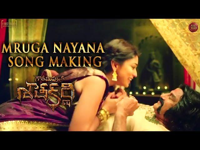 Mruga Nayana Song Making | Gautamiputra Satakarni Movie Songs | Balakrishna