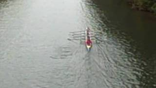preview picture of video 'Weybridge Silver Sculls 2009 - SWPS win'