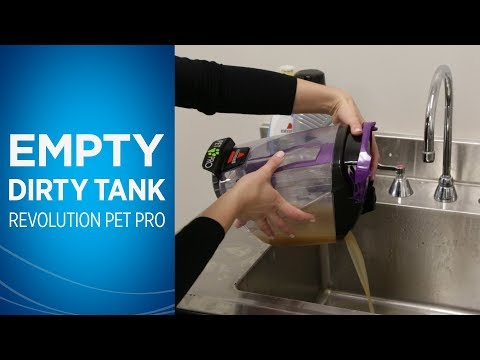 ProHeat 2X® Revolution™ Pet Pro Cleaning Dirty Tank for Storage Video