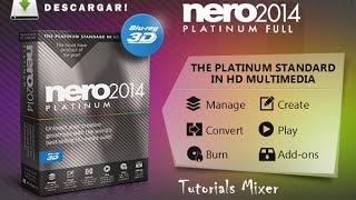 Descargar NERO 2014 PLATINUM + SERIAL + PATCH + CONTENT PACK FULL