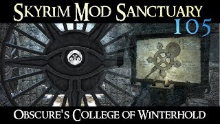 SKYRIM Mod Sanctuary 105 - Obscure's College of Winterhold