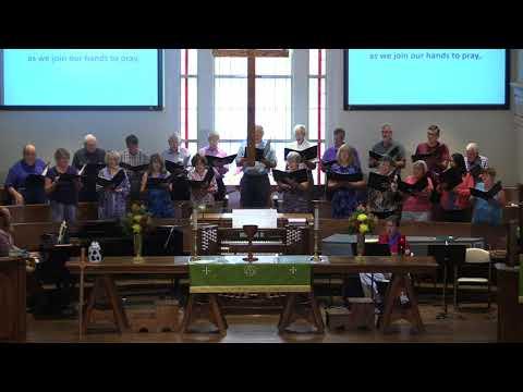 St. Andrew United Methodist Church, Chancel Choir, August 19, 2018, St. Albans, WV