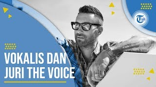 Profil Adam Levine - Vokalis Band Maroon 5