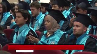 NEÜ'de mezuniyet sevinci
