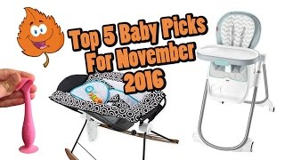 Top 5 Baby Gear in November 2016