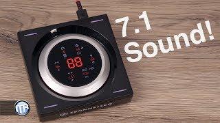 Sennheiser GSX 1000 Audio-Verstärker - Perfekter 7.1 Sound für Stereo-Headsets!