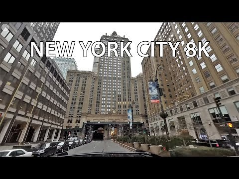 Drive VR 360 - Park Avenue 8K - New York City USA