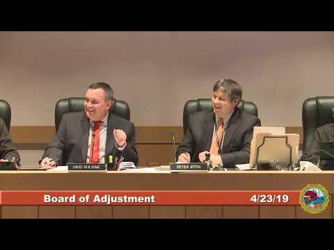 Board of Adjustment 4.23.19
