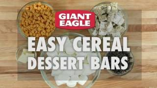 How To Make Easy Cereal Dessert Bars