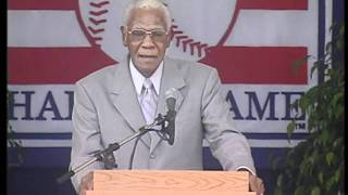 Buck O'Neil - Baseball Hall of Fame Induction Ceremony Speech