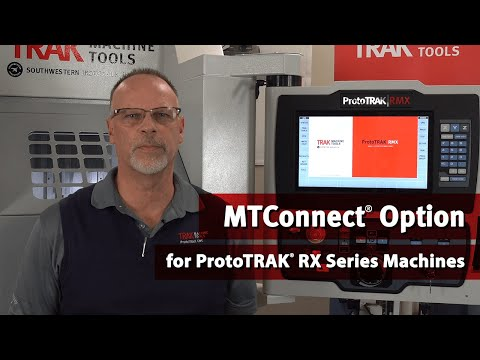 MTConnect Option for ProtoTRAK RX Series Machines
