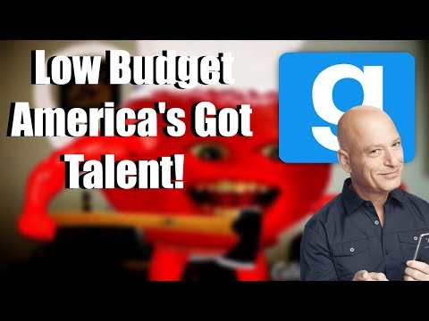 Provijilijince Plays: Gmod Sandbox! Low Budget America's Got Talent Skit! Terrible Auditions!