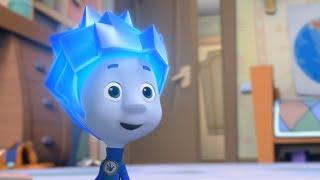 Dibujos animados para niños - Los Fixis - El Teclado