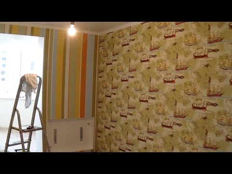 Клеим обои винил на флизелине ремонт квартиры