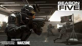 A new faction enters the fray.   Join the Shadow Company when Season Five arrives on August 5 for #ModernWarfare and #Warzone.  Follow us for all the latest intel: Web: http://www.CallofDuty.com  Facebook: http://facebook.com/CallofDuty Twitter: http://twitter.com/CallofDuty Instagram: http://instagram.com/CallofDuty