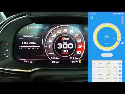 2020 Audi R8 V10 Performance Launch Control | 0 - 327 km/h Dragy Box